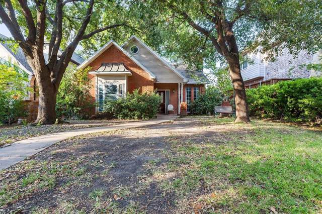 6119 Palo Pinto Avenue, Dallas, TX 75214 (MLS #14266943) :: The Real Estate Station