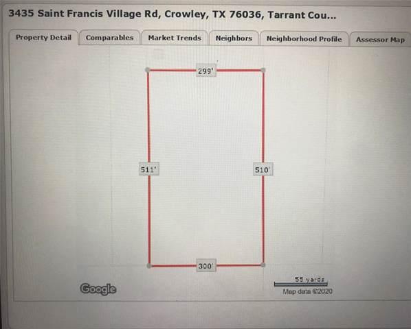 3435 Saint Francis Village Road, Crowley, TX 76036 (MLS #14266979) :: Century 21 Judge Fite Company