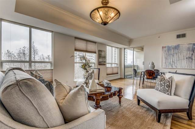 3401 Lee Parkway #709, Dallas, TX 75219 (MLS #14267008) :: The Mitchell Group