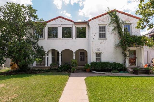 4305 Emerson Avenue, University Park, TX 75205 (MLS #14267036) :: Trinity Premier Properties