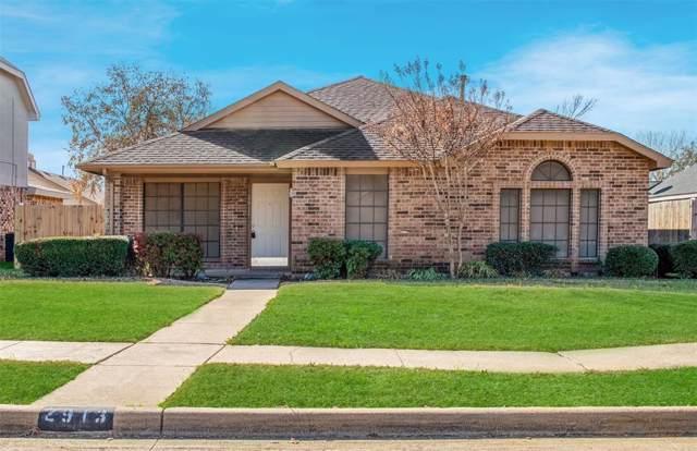 2913 Trilene Drive, Grand Prairie, TX 75052 (MLS #14267041) :: The Chad Smith Team
