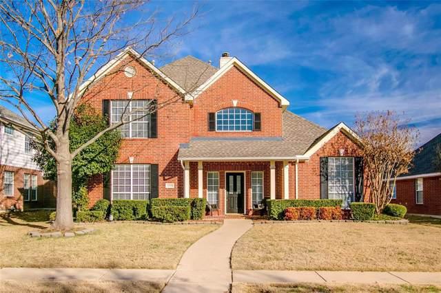 10014 Max Lane, Frisco, TX 75035 (MLS #14267042) :: Van Poole Properties Group