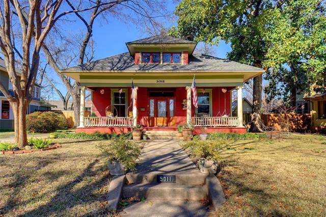 5011 Tremont Street, Dallas, TX 75214 (MLS #14267167) :: The Real Estate Station
