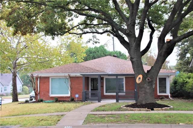4601 Birchman Avenue, Fort Worth, TX 76107 (MLS #14267180) :: EXIT Realty Elite