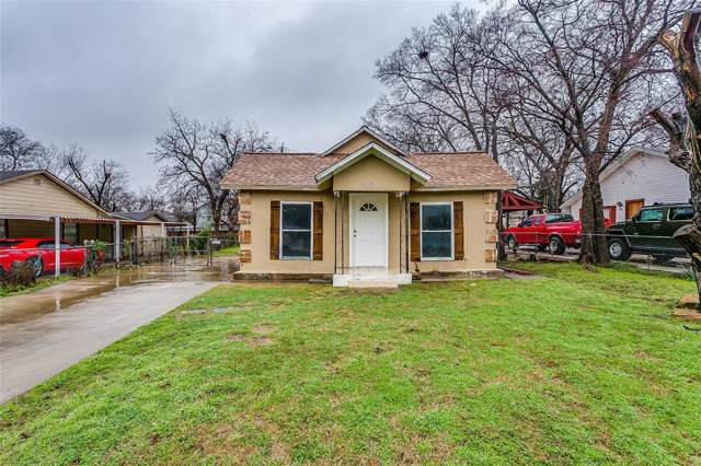 1213 Yale Street, River Oaks, TX 76114 (MLS #14267217) :: HergGroup Dallas-Fort Worth