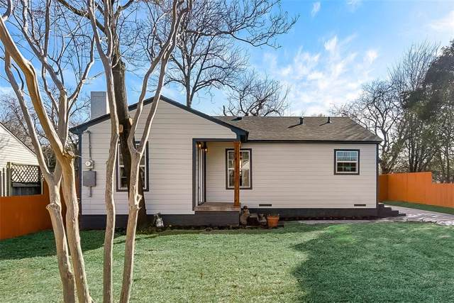 4230 S Cresthaven Road, Dallas, TX 75209 (MLS #14267245) :: The Kimberly Davis Group