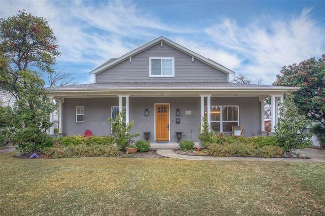 3620 Hilltop Road, Fort Worth, TX 76109 (MLS #14267271) :: RE/MAX Town & Country
