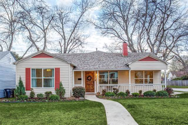 3837 Pershing Avenue, Fort Worth, TX 76107 (MLS #14267304) :: The Good Home Team