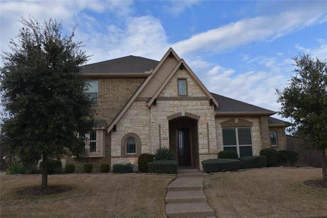 1441 Cedar Hollow Drive, Prosper, TX 75078 (MLS #14267308) :: The Chad Smith Team