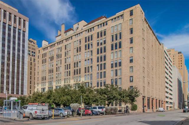 1122 Jackson Street #714, Dallas, TX 75202 (MLS #14267335) :: The Hornburg Real Estate Group