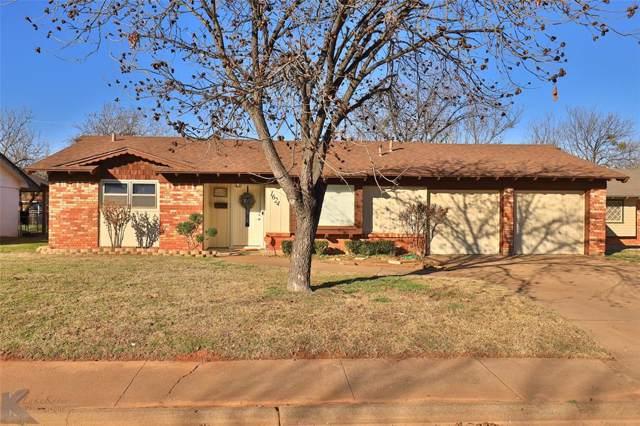 1624 Glenhaven Drive, Abilene, TX 79603 (MLS #14267387) :: Robbins Real Estate Group