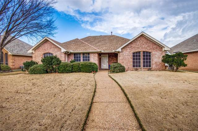1665 Waterford, Lewisville, TX 75077 (MLS #14267401) :: RE/MAX Town & Country