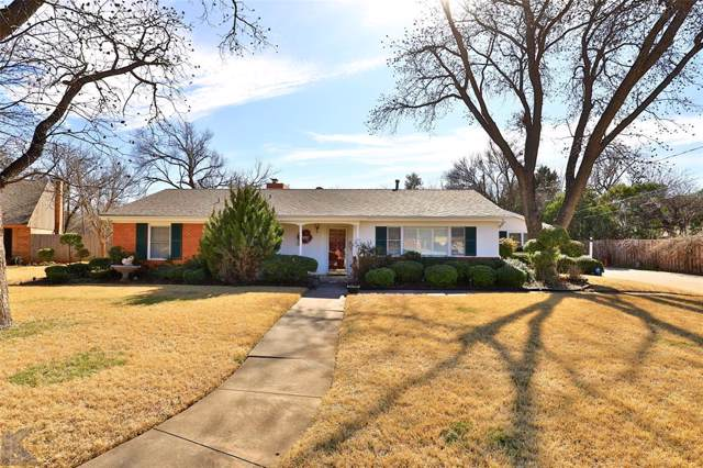 101 Green Meadows Circle, Abilene, TX 79605 (MLS #14267563) :: HergGroup Dallas-Fort Worth