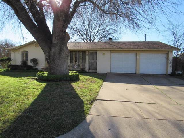 5601 Comer Drive, Fort Worth, TX 76134 (MLS #14267627) :: RE/MAX Town & Country