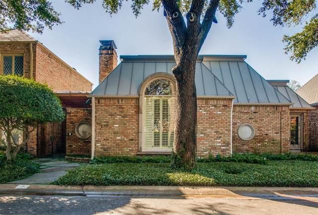 7 Saint Laurent Place, Dallas, TX 75225 (MLS #14267811) :: The Kimberly Davis Group