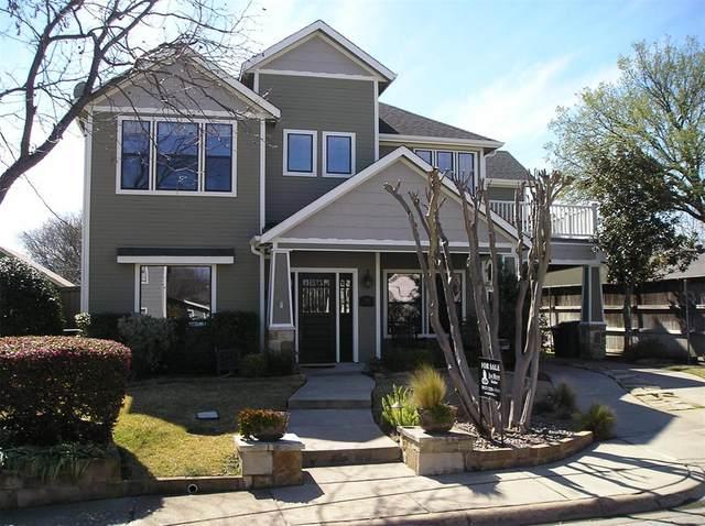 304 E Franklin Street, Grapevine, TX 76051 (MLS #14267881) :: NewHomePrograms.com LLC