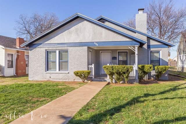 880 Ross Avenue, Abilene, TX 79605 (MLS #14267907) :: Robbins Real Estate Group