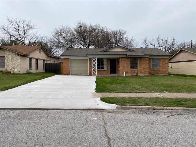 2509 Ridgewood Street, Irving, TX 75062 (MLS #14268056) :: The Kimberly Davis Group