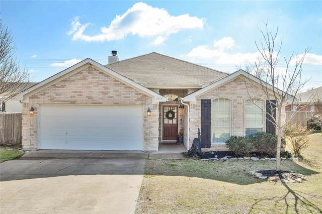 2913 Meandering Way, Granbury, TX 76049 (MLS #14268151) :: The Good Home Team