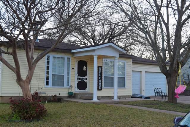 1235 W Ball Street, Weatherford, TX 76086 (MLS #14268183) :: NewHomePrograms.com LLC