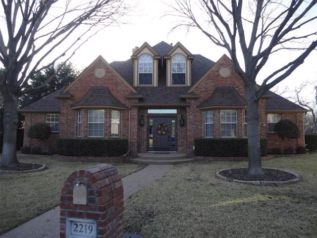 2219 Tournament Trail, Arlington, TX 76017 (MLS #14268244) :: The Mauelshagen Group