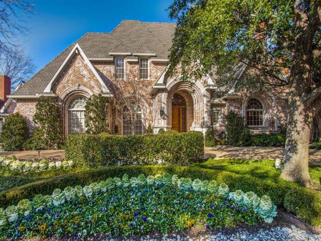 6119 Glendora Avenue, Dallas, TX 75230 (MLS #14268266) :: Bray Real Estate Group