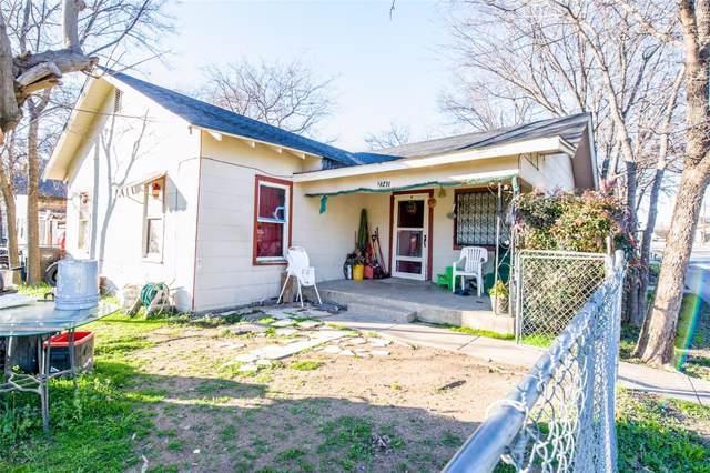 2741 Avenue G, Fort Worth, TX 76105 (MLS #14268304) :: Post Oak Realty