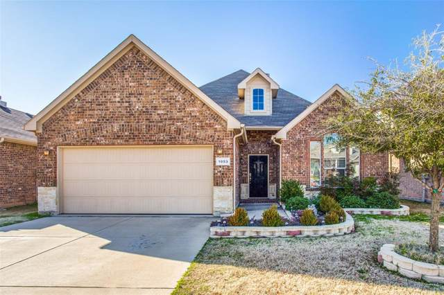 1053 Jodie Drive, Weatherford, TX 76087 (MLS #14268331) :: The Mauelshagen Group