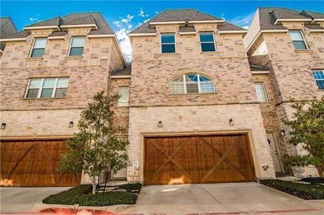2700 Club Ridge Drive #35, Lewisville, TX 75067 (MLS #14268410) :: The Tierny Jordan Network