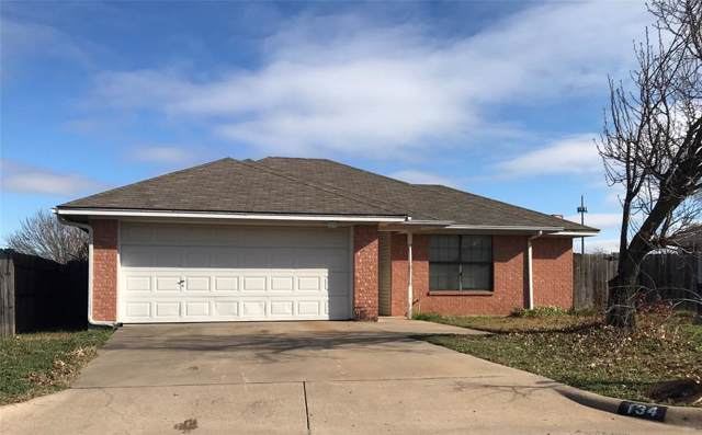 134 Black Forest Drive, Weatherford, TX 76086 (MLS #14268436) :: The Mauelshagen Group