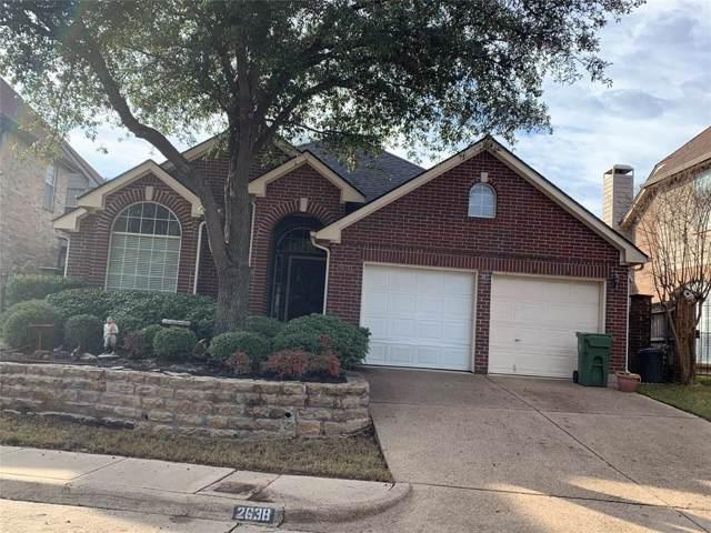 2638 Hidden Ridge Drive, Arlington, TX 76006 (MLS #14268505) :: Tenesha Lusk Realty Group