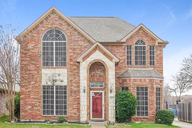 1422 Post Oak Drive, Rowlett, TX 75089 (MLS #14268578) :: Real Estate By Design