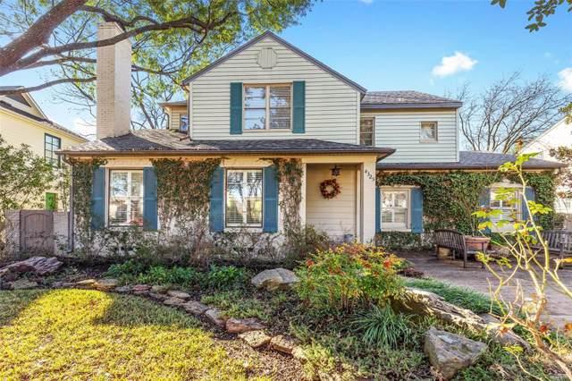 4325 Hyer Street, University Park, TX 75205 (MLS #14268607) :: The Kimberly Davis Group