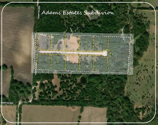 Lot 8 County Rd 4920, Leonard, TX 75452 (MLS #14268647) :: Frankie Arthur Real Estate