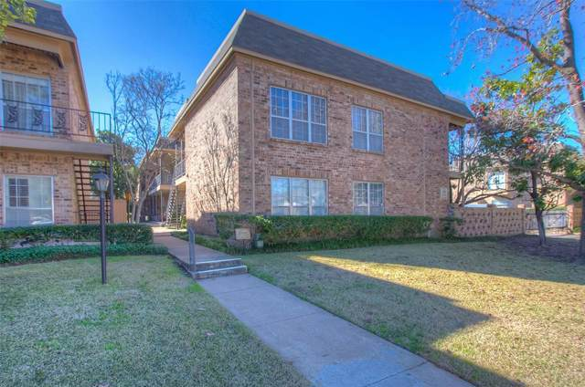 4405 Bellaire Drive S #217, Fort Worth, TX 76109 (MLS #14268689) :: Tenesha Lusk Realty Group
