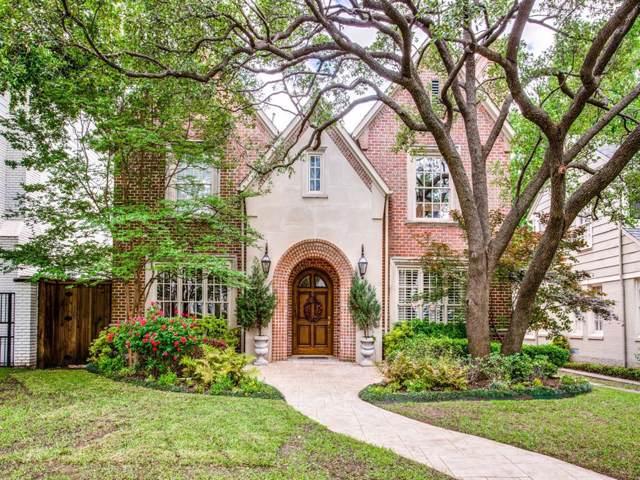 3909 Bryn Mawr Drive, University Park, TX 75225 (MLS #14268754) :: The Kimberly Davis Group