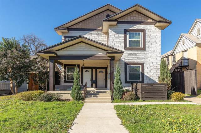 605 S Oak Cliff Boulevard, Dallas, TX 75208 (MLS #14268755) :: RE/MAX Pinnacle Group REALTORS