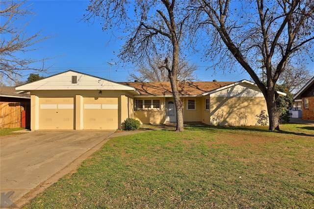 2149 S Willis, Abilene, TX 79605 (MLS #14268806) :: Potts Realty Group