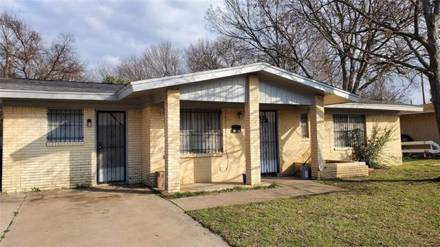 5441 Hensley Drive, Fort Worth, TX 76134 (MLS #14268855) :: Potts Realty Group