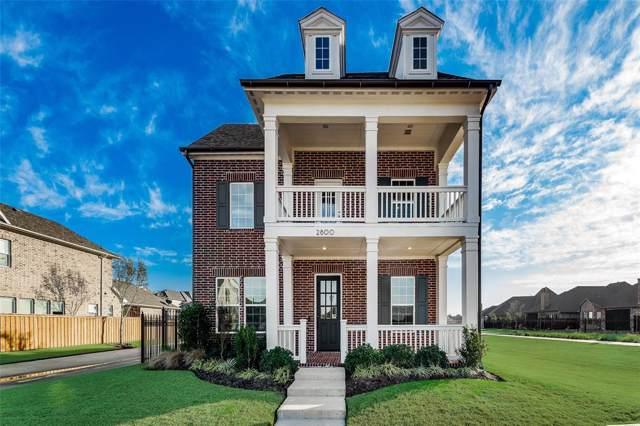 2800 Amesbury, The Colony, TX 75056 (MLS #14269048) :: Trinity Premier Properties