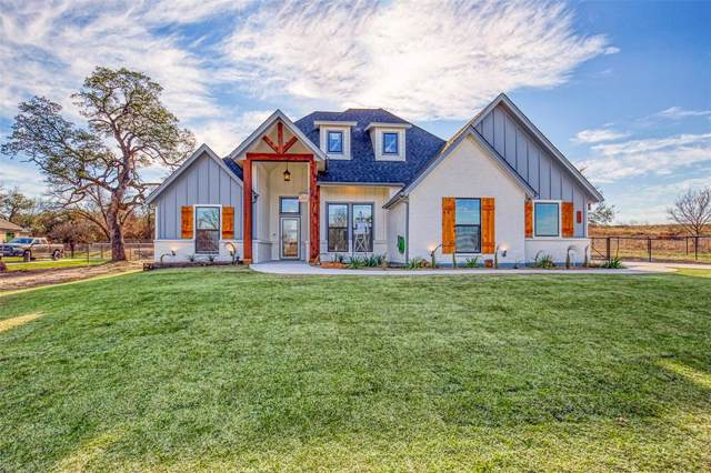 400 Scenic Wood Drive, Reno, TX 76020 (MLS #14269198) :: The Chad Smith Team