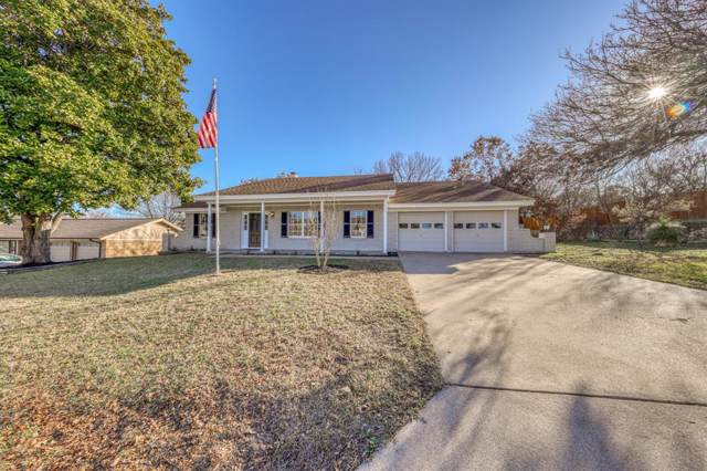 706 Hilltop Drive, Weatherford, TX 76086 (MLS #14269485) :: The Mauelshagen Group