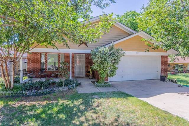 609 Duke Street, Weatherford, TX 76086 (MLS #14269504) :: The Mauelshagen Group