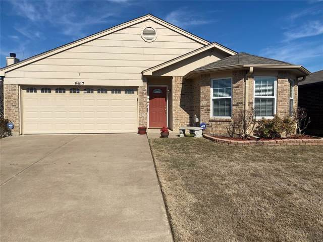 4617 Brimstone Drive, Fort Worth, TX 76244 (MLS #14269530) :: Team Hodnett