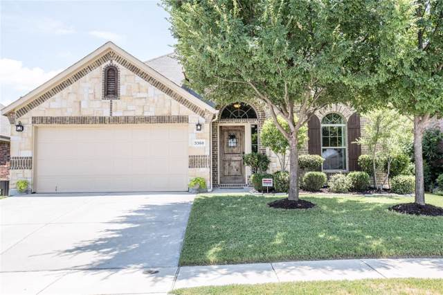 3360 Lone Tree Lane, Fort Worth, TX 76244 (MLS #14269531) :: Team Hodnett