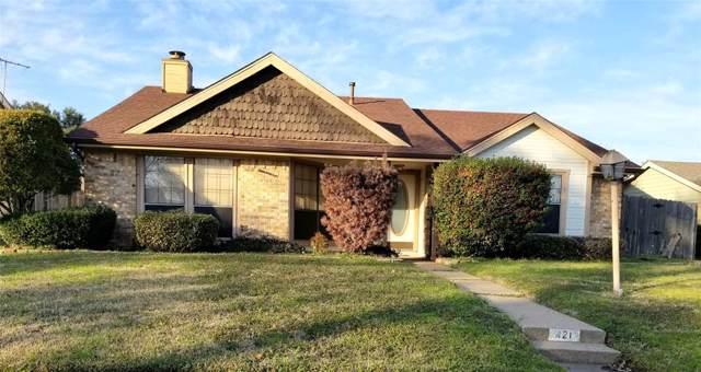421 Covey Lane, Mesquite, TX 75150 (MLS #14269536) :: Team Hodnett