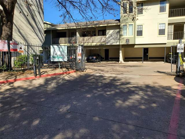 9617 Walnut Street #4101, Dallas, TX 75243 (MLS #14269589) :: The Mauelshagen Group