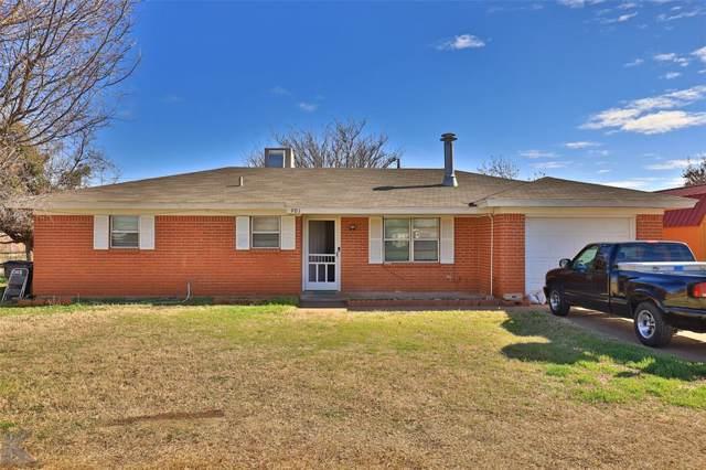 901 Orange Street, Merkel, TX 79536 (MLS #14269596) :: Frankie Arthur Real Estate