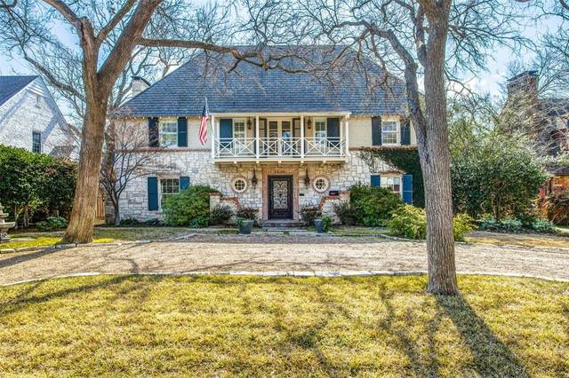 3405 Southwestern Boulevard, University Park, TX 75225 (MLS #14269812) :: Robbins Real Estate Group