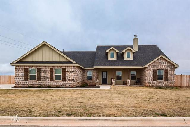 120 Ashley Drive, Tuscola, TX 79562 (MLS #14270600) :: Ann Carr Real Estate